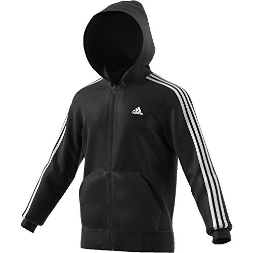 Essentials Short Adidas jacke Men Stripes Blanco Negro 3 Kap EwxPBxqS