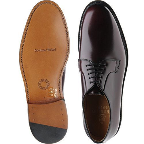 Schnürhalbschuhe Herring Herren Polished Burgundy Lakenheath Braun