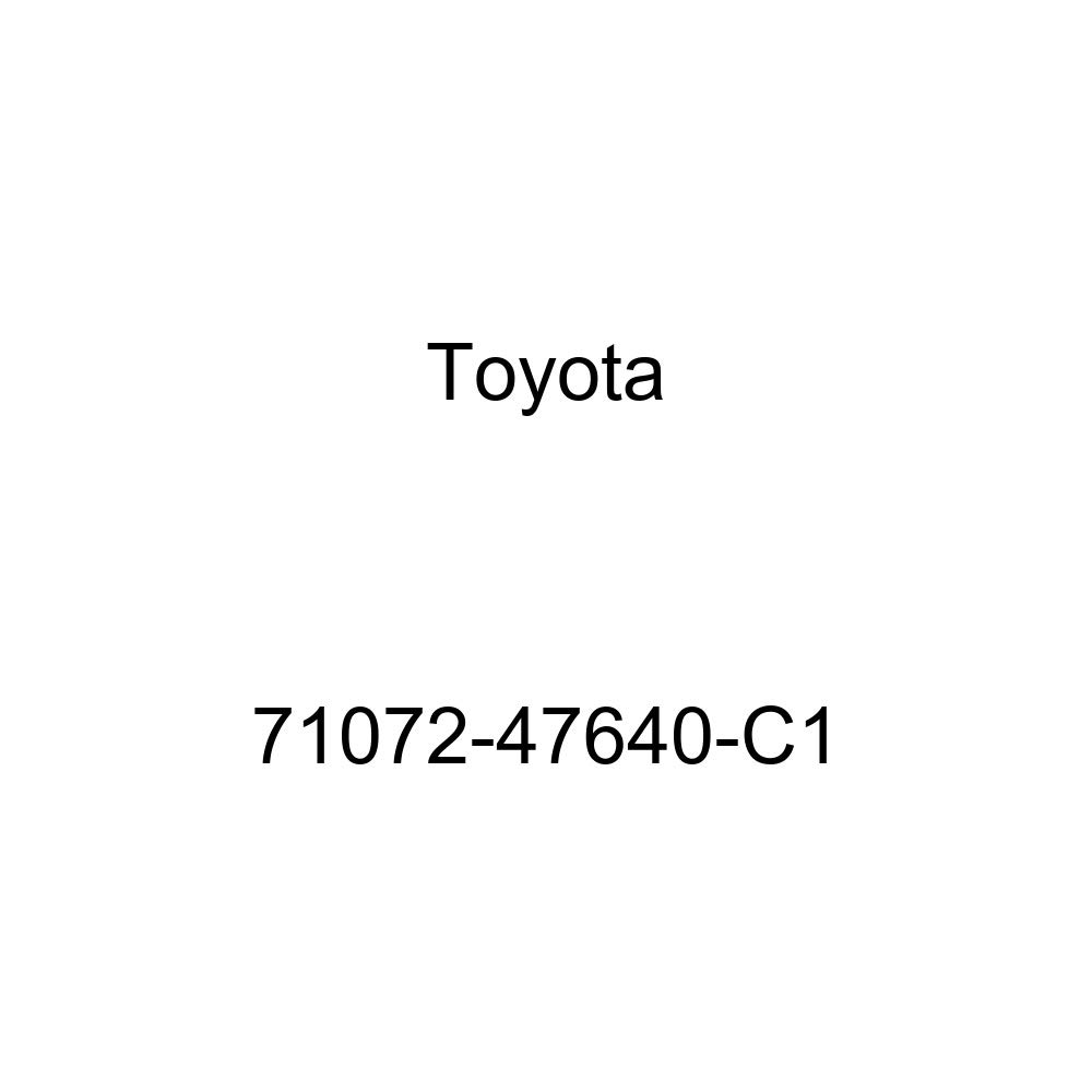 TOYOTA Genuine 71072-47640-C1 Seat Cushion Cover