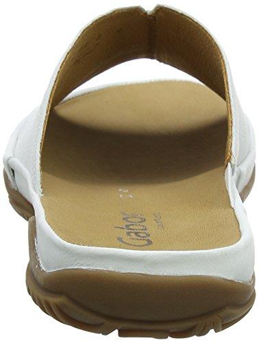 Bianco Gabor Comfort Donna Sport Weiss Ciabatte xSI8SwOq