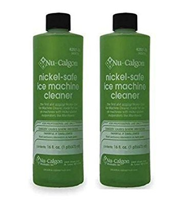 Nu Calgon Ice Machine Cleaner Nickel Safe 4287-34, 2 Pack (Ice Cleaner Machine Safe Nickel)