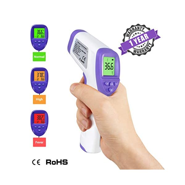 TIED RIBBONS Digital Laser IR Forehead Thermometer
