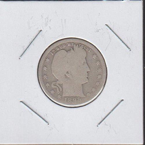1895 O Barber or Liberty Head (1892-1916) Quarter Good