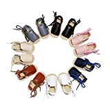Infant Baby Girls Boys Walking Sandal 0-3 Years Old Toddler Open-Toe Beach Leather Rome Straps Sole...