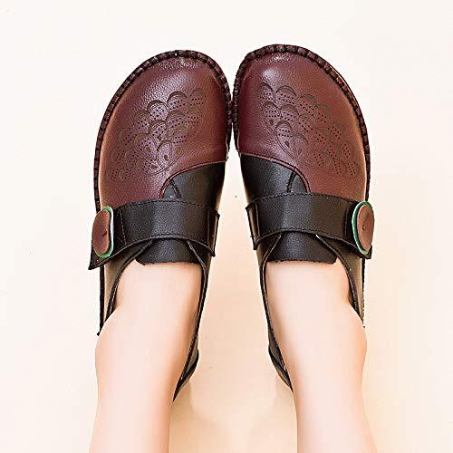 Marron Chaussures Eu couleur Taille Qiusa 41 Marron gUp6q0wT