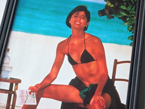 額装佐々木恵水着ビキニハイレグ昭和JALキャンペーンガールカレンダー写真集ポスターテレカ