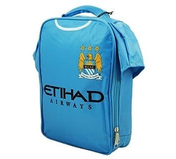 Official Football Merchandise - Bolsa para almuerzo, diseño de camiseta de equipos de fútbol Manchester