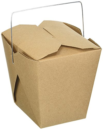 Oasis Supply 12-Count Chinese Take Out Boxes for Party Favor and Food Pail, 26-Ounce, Kraft by Oasis Supply