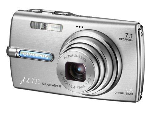 OLYMPUS デジタルカメラ μ780 (ミュー) プレミアムシルバーμ780SLV