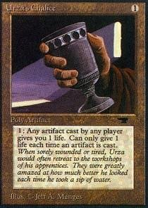 Magic: the Gathering - Urza's Chalice - Antiquities