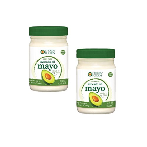 Price comparison product image Chosen Foods 100% Pure Avocado Oil Mayo Non GMO - Cage Free Eggs - Soy Free - 12OZ - 2 PACK - KOSHER