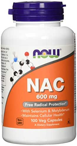 Vitamins & Supplements: NOW Supplements NAC