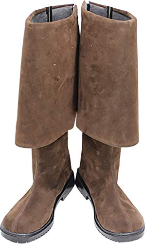Whirl Cosplay Boots Shoes for Pirates of The Caribbean Jack Sparrow Long