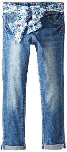 Pumpkin Patch Big Girls' Denim Turnup Jeans, Denim, 10