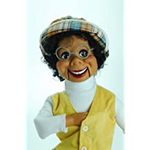 Lester Dummy Ventriloquist Doll created by Willie Tyler starred on Rowan & Martin's Laugh-In. Comes w/BONUS E-Book - How to Instructions to Learn Ventriloquism.