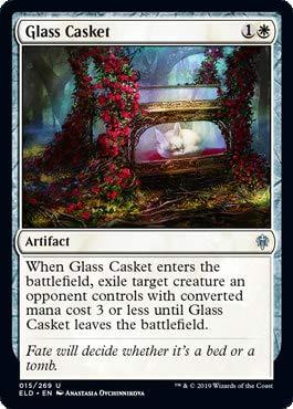 Magic: The Gathering - Glass Casket - Foil - Throne of Eldraine