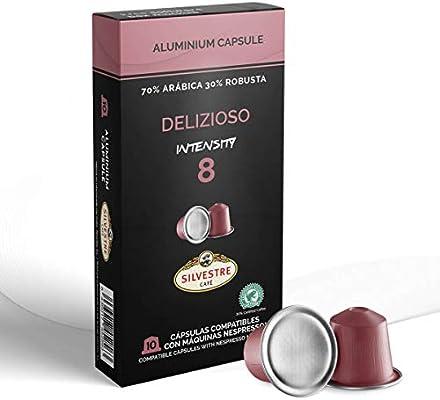 Imported SPANISH Coffee Espresso Compatible Nespresso Machine Aluminum Pods single cup (DELIZIOSO, 40 Pods): Amazon.com: Grocery & Gourmet Food