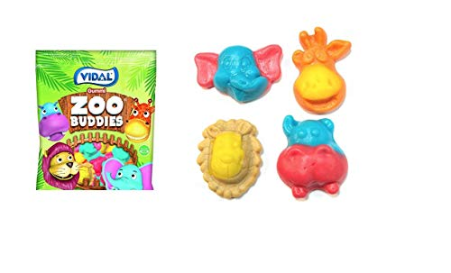 Candy Animal - Fun Filled Zoo Animals Bulk Candy From RdaleFresh (GUMMI ZOO BUDDIES, 4.4 lbs.)
