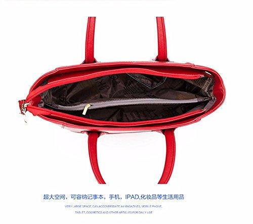 Neuf Femelle Bandoulière Oxblood MSZYZ Bag Sac à Big red Sac dFvxwqx