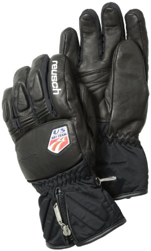 Reusch Snowsports Noram DX Training Glove, Black, Medium