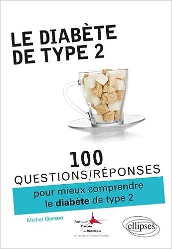 Lire 100 Questions Réponses Sur le Diabète de Type 2 pdf, epub ebook
