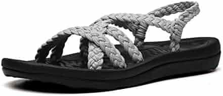 177fa66bb819f Shopping Last 30 days - Grey - Flats - Sandals - Shoes - Women ...