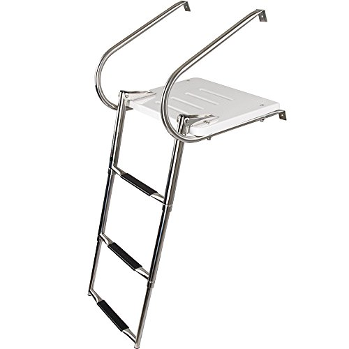 Swim Platform (Rage Powersports SP-3S Telescoping Boat Ladders with Platforms)