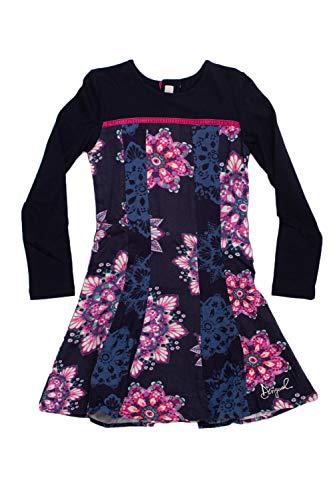 Desigual Sanz Vest Courte Blue Robe Fille 18wgvw41 xqPvw8Rx