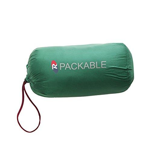 Rokka&Rolla Boys' Ultra Lightweight Hooded Packable Puffer Down Jacket (M (8), Verdant Green) by Rokka&Rolla (Image #6)
