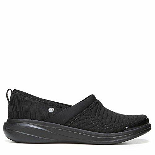 BZees Coco Black Oversized Geo Womens Slip-on Size 7.5M Coco Footwear
