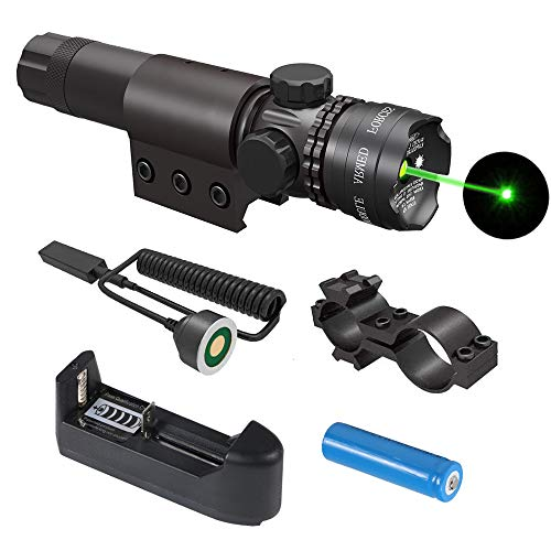 Learn More About Gogoku Tactical Green Laser Sight with Rail Mount, Scope Mount, Rechargeable Batter...
