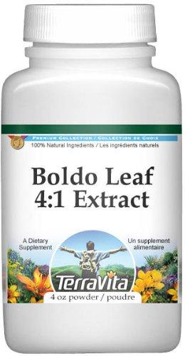 Extra Strength Boldo Leaf 4:1 Extract Powder (4 oz, ZIN: 511249) - 2 Pack