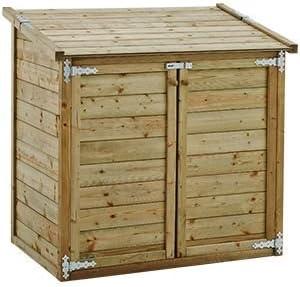 Coffre de jardin bois multi-fonctions: Amazon.fr: Jardin