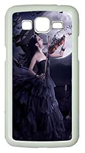 Samsung Galaxy Grand 2 7106 Cases & Covers -Deadly Violin art Custom PC Hard Case Cover for Samsung Galaxy Grand 2 7106¨C White