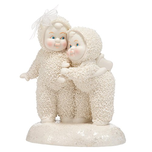 """Department 56 Snowbabies """"I'm Here For You"""" Porcelain Figurine, 4.4"""""""