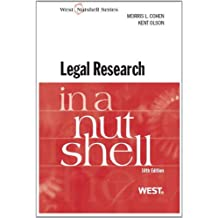 Legal Research in a Nutshell, 10th (Nutshell Series)