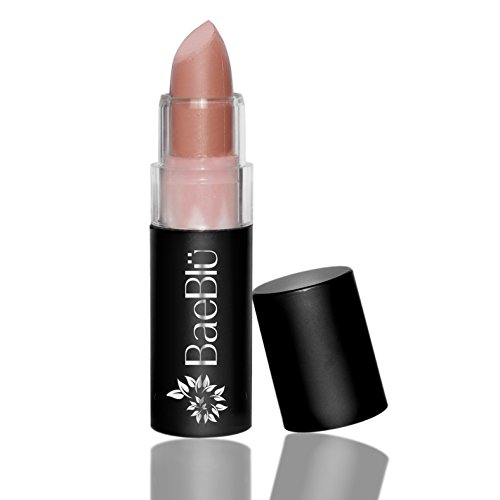 tural Non-GMO Vegan Hydrating Antioxidant-Rich Lipstick, Made in USA by BaeBlu, Matte Pink Chai (The Natural Matte Lipstick)