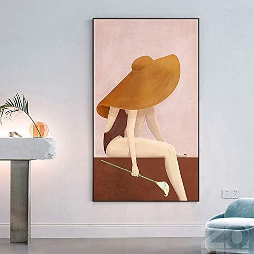 Flduod Póster Impreso en Lienzo De Moda de Grace Chicas Arte de la Pared de Lona Figura de Cuadros Moderno de Pared para Sala de Estar dormio Estudio de Arte casa Decoración