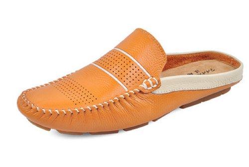 ... Da Spiaggia Scava Fuori Le Scarpe Giallo Debole. B00K25B15Q. Happyshop  (tm) Scarpe Slip-on In Pelle Uomo Mocassini Pantofole Ventilate Sandali  Scarpe 4f48ccd80dd