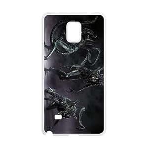 Alien Samsung Galaxy Note 4 Cell Phone Case White SUJ8432736