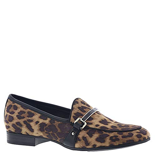 by Women's Black Edelman Circus Sam Loafer Hendricks Fabric Print Cheetah Brown FPqSwdC
