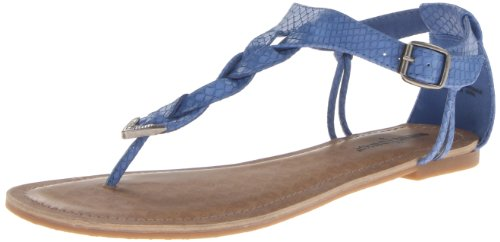 Minnetonka - Sandali Fiesta, Donna, Blu (Blau (Ocean Blue)), 37