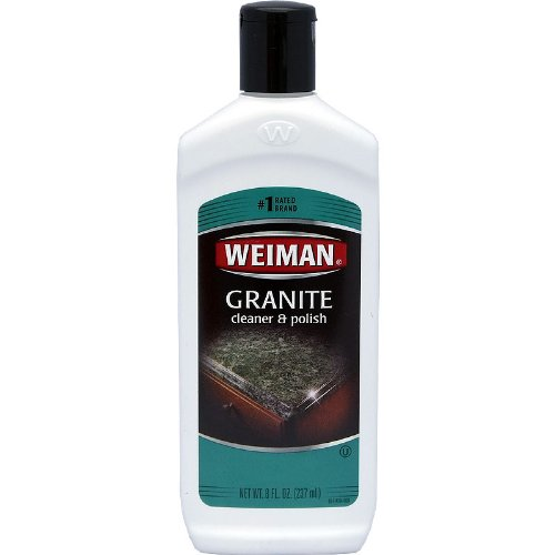 Weiman Granite Corian Cleaner & Polish 8 Oz (Pack of 6)