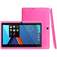 Aobiny 7Inch Tablet, Google Android 4.4 Duad Core Tablet PC 1GB + 8GB Dual Camera Wifi Bluetooth