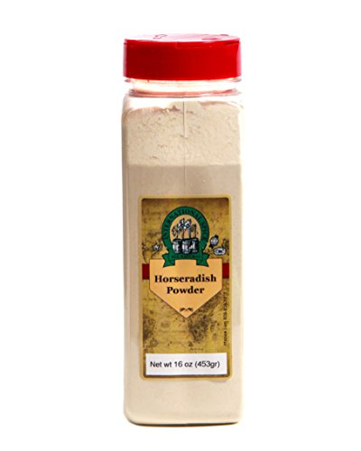 Horseradish Powder (International Spice Premium Gourmet Spices- HORSERADISH POWDER: 16 oz)