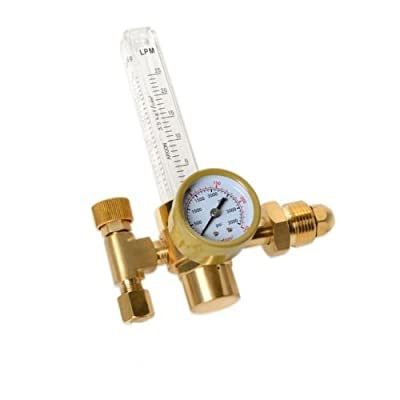 GHP CGA580 Inlet Brass Body CO2/Argon Flowmeter Regulator for Mig/Tig Welding