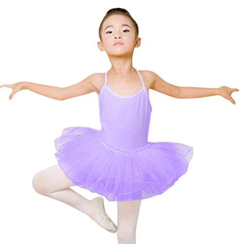 FAPIZI Clearance Toddler Girls Ballet Dress Tutu Leotard