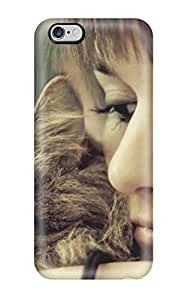 For Iphone 6 Plus Fashion Design Cat And Girl Women Pretty People Women Case-eFvOxpB7074WBmnW