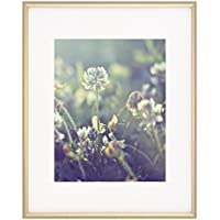 Artcare By Nielsen Bainbridge 16x20 Satin Gold Archival Cosmopolitan Frame With White Mat For 11x14 Image #RM2419472. Includes: UV Glazed Glass and Anti Aging Liner