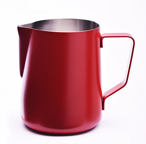 [JOEFREX] Milk Pitcher Red 20oz powder coated, stainless ()